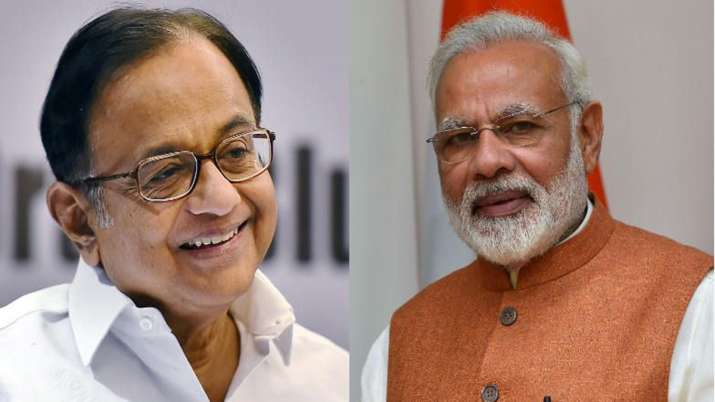 पीएम मोदी के इस कदम से आश्चर्यचकित रह गए चिदंबरम, पूर्व वित्त मंत्री ने जताई खुशी- India TV