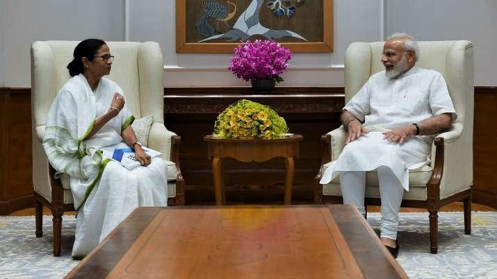 West Bengal CM Mamata banerjee meets PM Narendra Modi- India TV