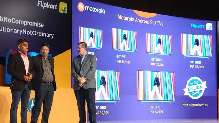 Motorola launches first smart TV in India, Moto e6s...- India TV Paisa