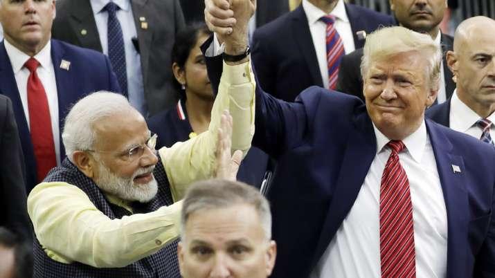 PM Narendra Modi and US President Donald Trump at 'Howdy, Modi' event | AP- India TV