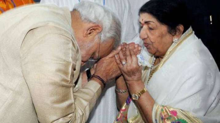 Your arrival had changed India''s image, says Lata to Modi   PTI File- India TV