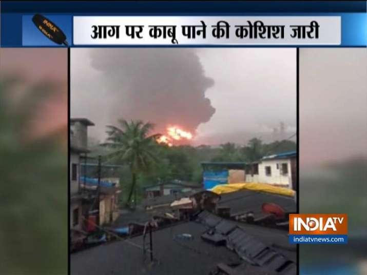 ONGC Mumbai- India TV