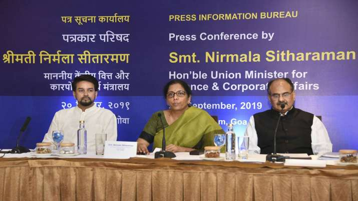 Govt slashes corporate tax to 25.17 pc for domestic cos- India TV Paisa