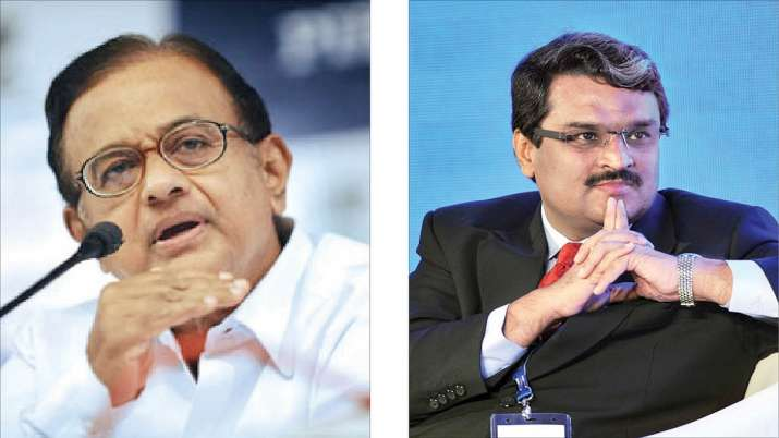 P Chidambaram and Jignesh Shah - India TV Paisa