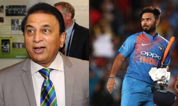 Sunil Gavaskar and Rishabh Pant- India TV