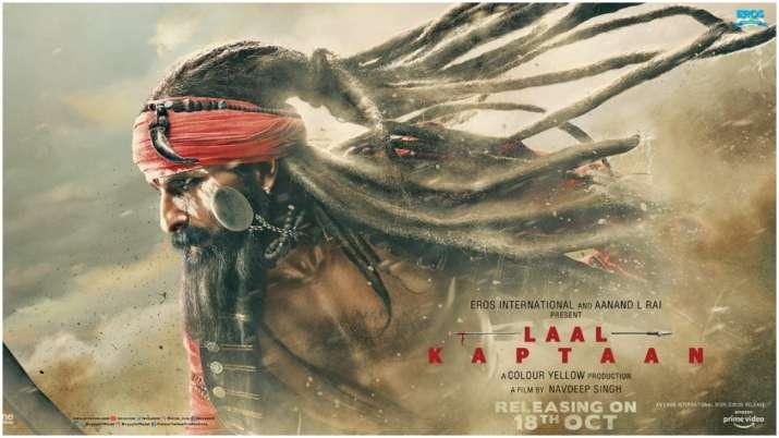 Laal Kaptaan Poster- India TV