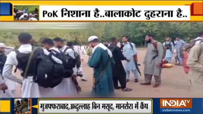 भारत फिर करेगा एयर स्ट्राइक? PoK में कैंपों में 1150 से ज्यादा आतंकी मौजूद, वीडियो आया सामने- India TV