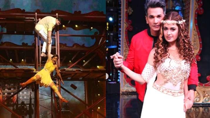 Prince Narula and Yuvika Chaudhary in Nach Baliye 9- India TV