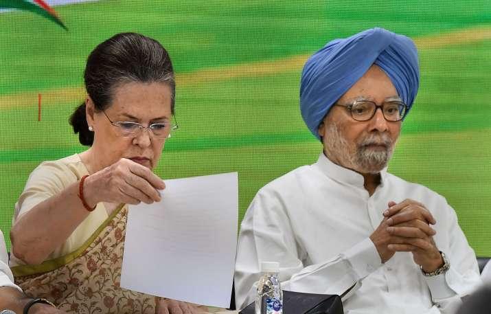 Congress interim President Sonia Gandhi- India TV