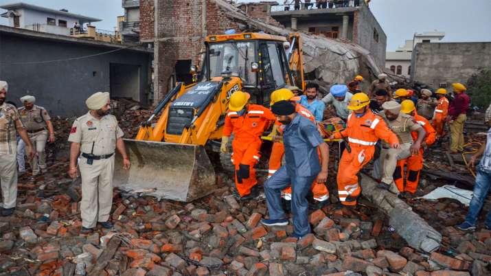 Punjab, Cracker Factory Blast- India TV