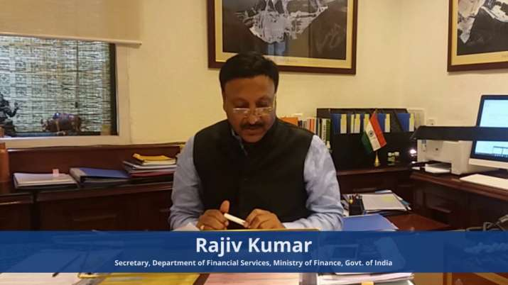 Rajiv Kumar, secretary, department of financial services- India TV Paisa