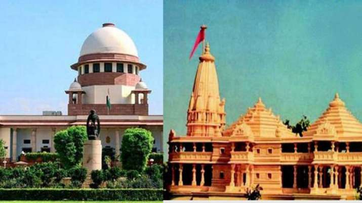 Ram Mandir hearing likely to complete by October 18th says CJI Ranjan Gogoi- India TV