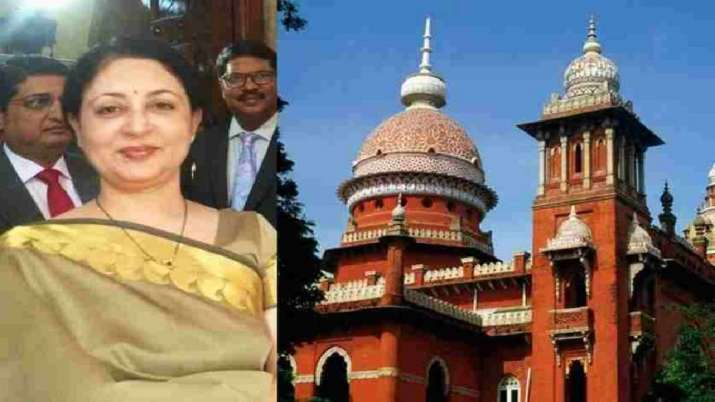 Resignation of Madras HC Chief Justice V K Tahilramani accepted by government.- India TV