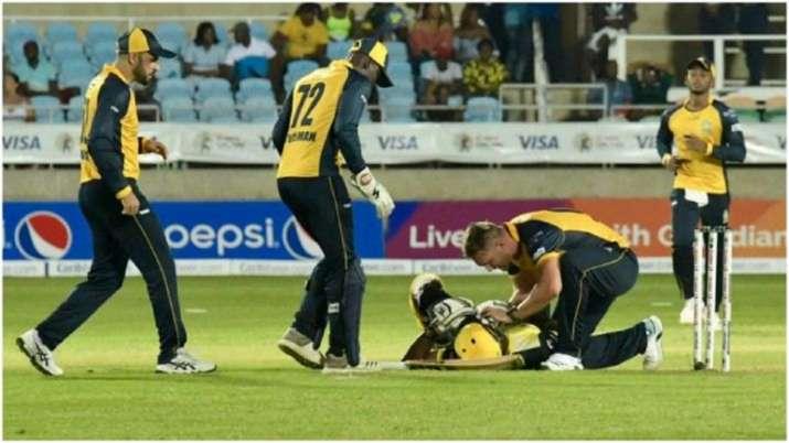 Video: सिर पर गेंद लगने से...- India TV