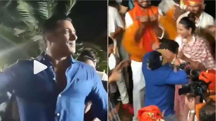 Salman khan dance video- India TV