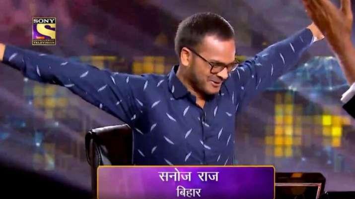'कौन बनेगा करोड़पति 11' को मिला पहला करोड़पति, बिहार के सनोज राज अब बनना चाहते हैं IAS- India TV