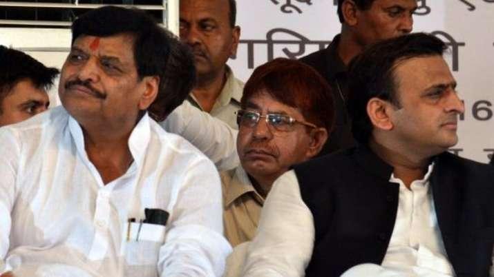 Shivpal Yadav and Akhilesh Yadav | PTI File- India TV