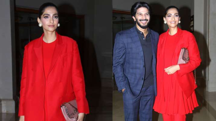 Sonam Kapoor and Dulquer Salman- India TV