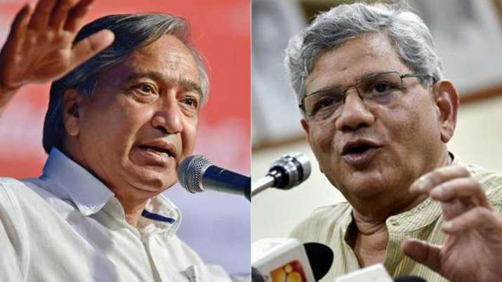 Yechury says he has no objection if Tarigami is shifted to AIIMS for better treatment | PTI File- India TV