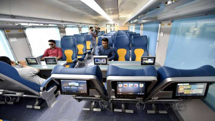Free rail travel insurance of Rs 25 lakh each for passengers on board Del-Lucknow Tejas- India TV Paisa