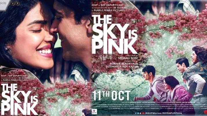Image result for जायरा वसीम की आखिरी फिल्म The Sky Is Pink का ट्रेलर रिलीज