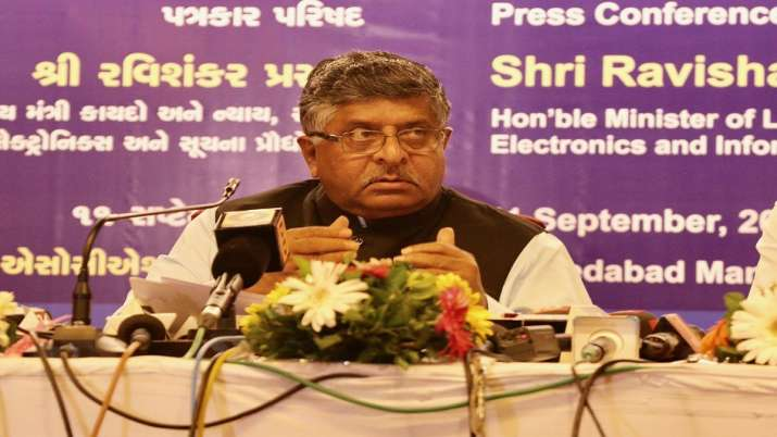 Union Minister Ravi Shankar Prasad- India TV Paisa