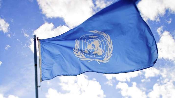 united nation flag- India TV