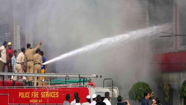 Indore Fire- India TV