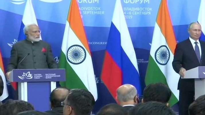 Modi Putin- India TV