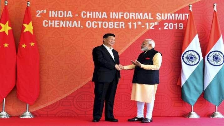 Prime Minister Narendra Modi with Chinese President Xi...- India TV