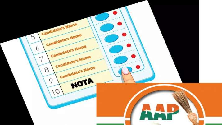 aam aadmi party vote share in haryana less than nota- India TV