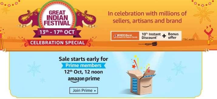 Amazon Great Indian Festival Sale- India TV Paisa