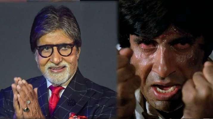 अमिताभ का एंग्री यंग...- India TV