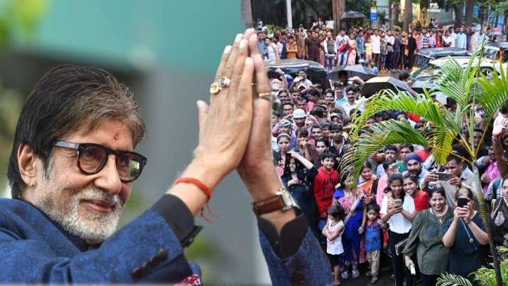 अमिताभ बच्चन ने फैंस से मांगी माफीे- India TV