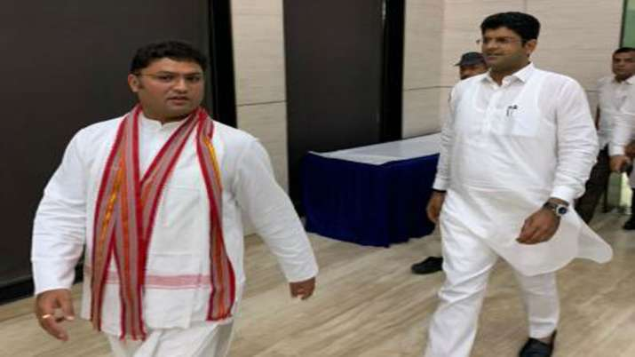 Ashok Tanwar support Dushyant Chautala party for Haryana Elections- India TV