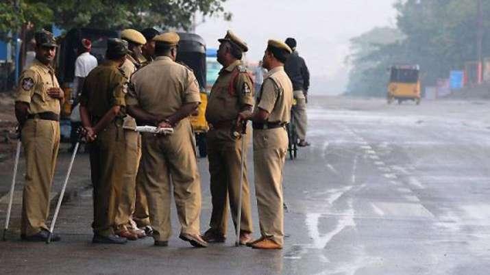 Police take 'Lord Hanuman' into custody...- India TV
