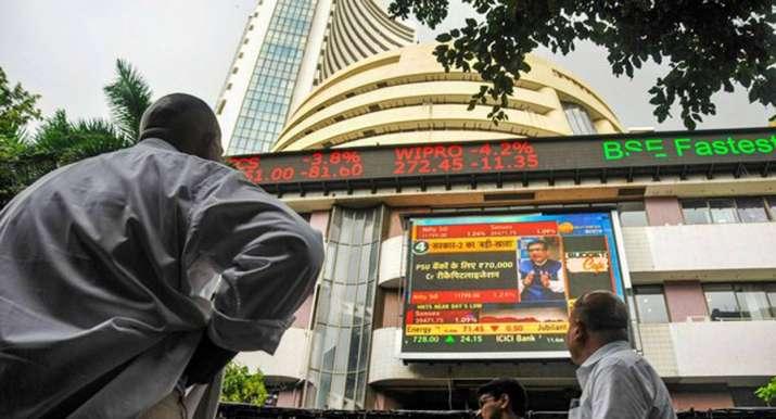 Sensex drops 141.33 pts to end at 37,531.98, Nifty falls 49.45 pts - India TV Paisa