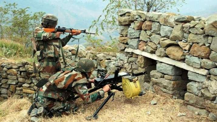 पाकिस्तान ने एक बार फिर किया सीजफायर का उल्लंघन, भारतीय जवान दे रहे मुंहतोड़ जवाब- India TV
