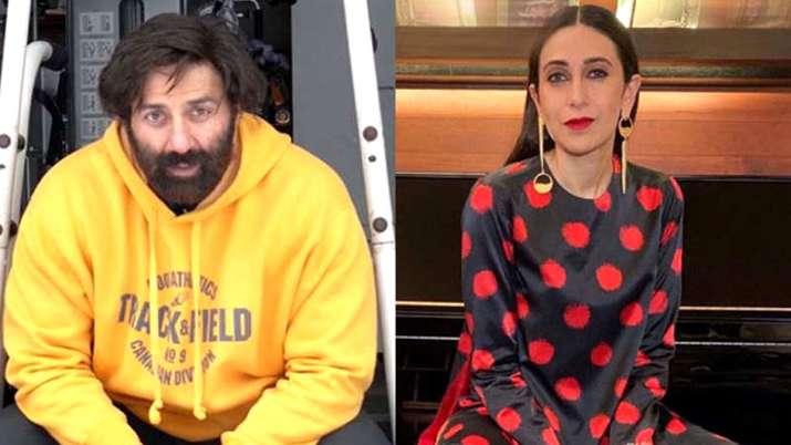 Sunny Deol and Karisma Kapoor- India TV
