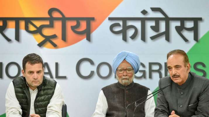 Congress party 40 star campaigners list did not include Navjot Singh Sidhu name- India TV