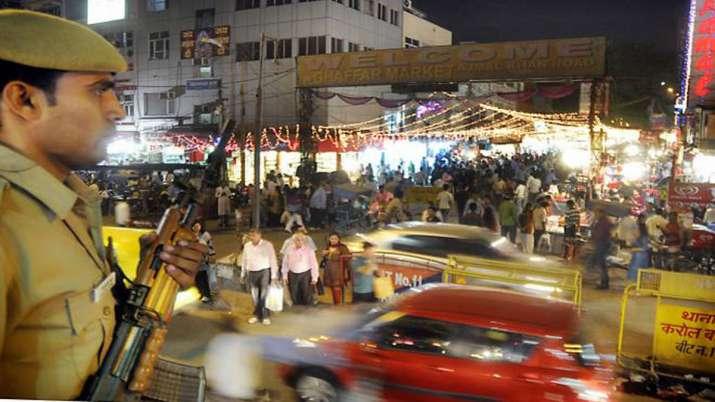 Threat on Diwali: Unprecedented security in Delhi, other...- India TV