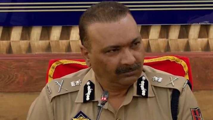 Jammu-Kashmir's DGP Dilbag Singh- India TV