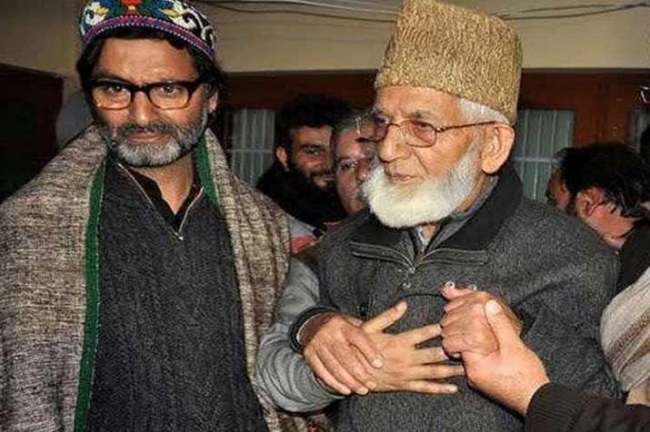 yasin malik and syed ali shah geelani- India TV