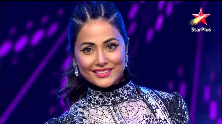 Hina Khan at Nach Baliye 9- India TV