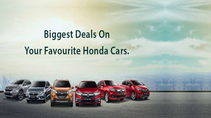 Honda car Offers Discount & Exchange Offers on its vehicles- India TV Paisa