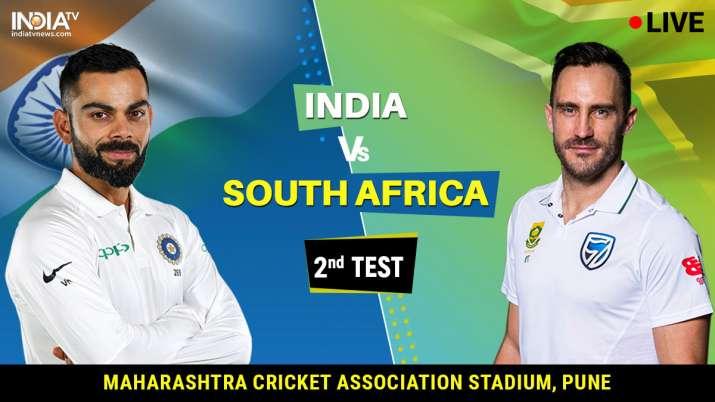 India vs South Africa 2nd Test Match From Maharashtra Cricket Association Stadium,Pune- India TV