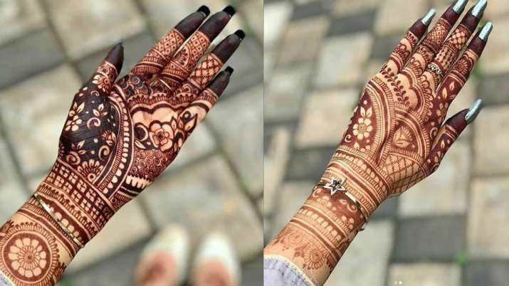 Karwa chauth 2019 beautiful latest mehndi designs see photos