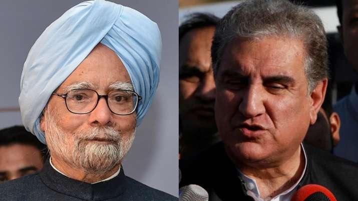 Manmohan Singh and Shah Mahmood Qureshi- India TV