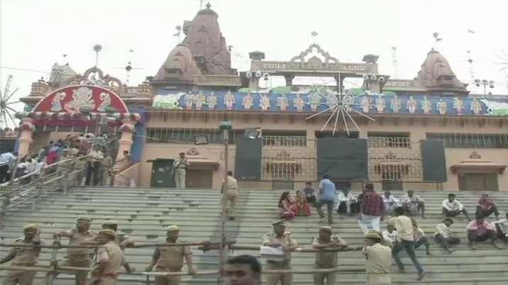 दिल्ली में आतंकवादियों की घुसपैठ की आशंका के चलते मथुरा में हाई-अलर्ट मथुरा- India TV
