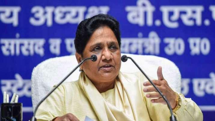 Image result for mayawati on ram mandir